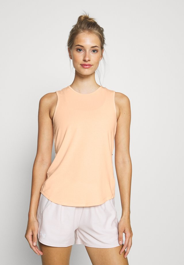 CROSS BACK TANK - Toppi - pale coral