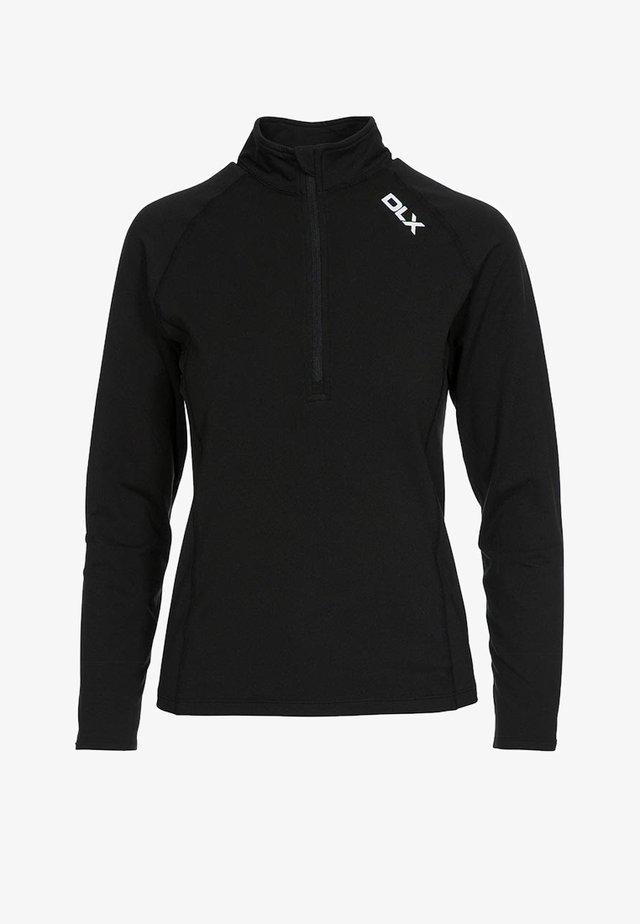 ODETTE - Long sleeved top - black