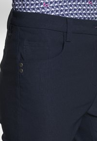 Cross Sportswear - STRETCH PANTS - Kalhoty - navy - 4