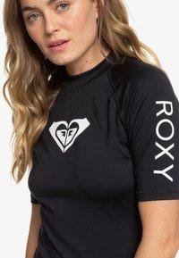 Roxy - HEARTED  - Camiseta de lycra/neopreno - anthracite - 3