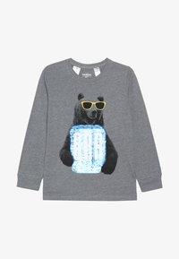 OshKosh - KIDS TIER BASIC TEE - Langærmede T-shirts - grey heather - 2