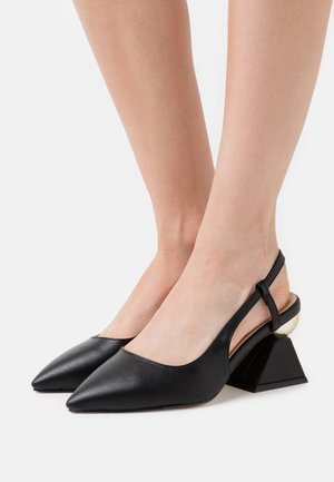 WIDE FIT JASMINE - Klassiske pumps - black