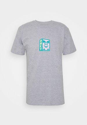 FACE - T-shirt med print - heather grey
