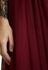 Lace & Beads - VAL SKIRT - A-line skirt - burgundy - 3
