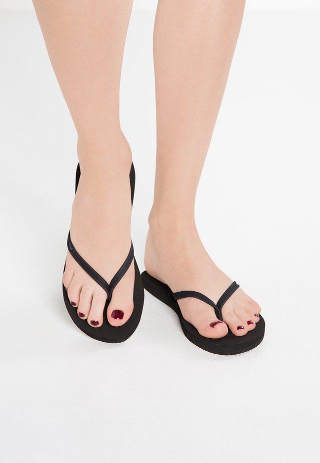 NIGHTS - Flip Flops - black