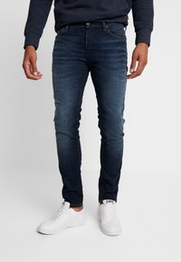Jack & Jones - JJITIM JJORIGINAL JOS  - Vaqueros slim fit - blue denim - 0