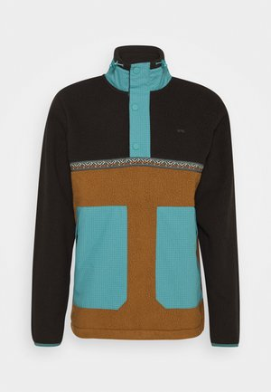 ARCH QUARTER - Fleece jumper - spray blue