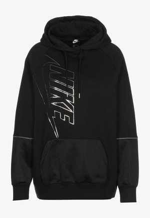ICON CLASH - Hoodie - black/metallic silver