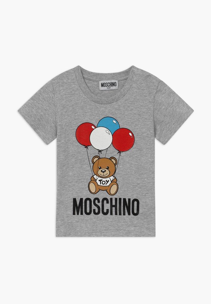 MOSCHINO - Print T-shirt - grigio chiaro
