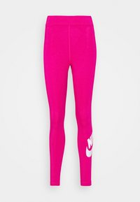 Nike Sportswear - FUTURA - Leggings - Trousers - fireberry/white - 4