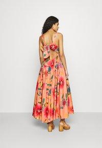 Farm Rio - FLORAL SEA MIDI DRESS - Day dress - multi coloured - 2