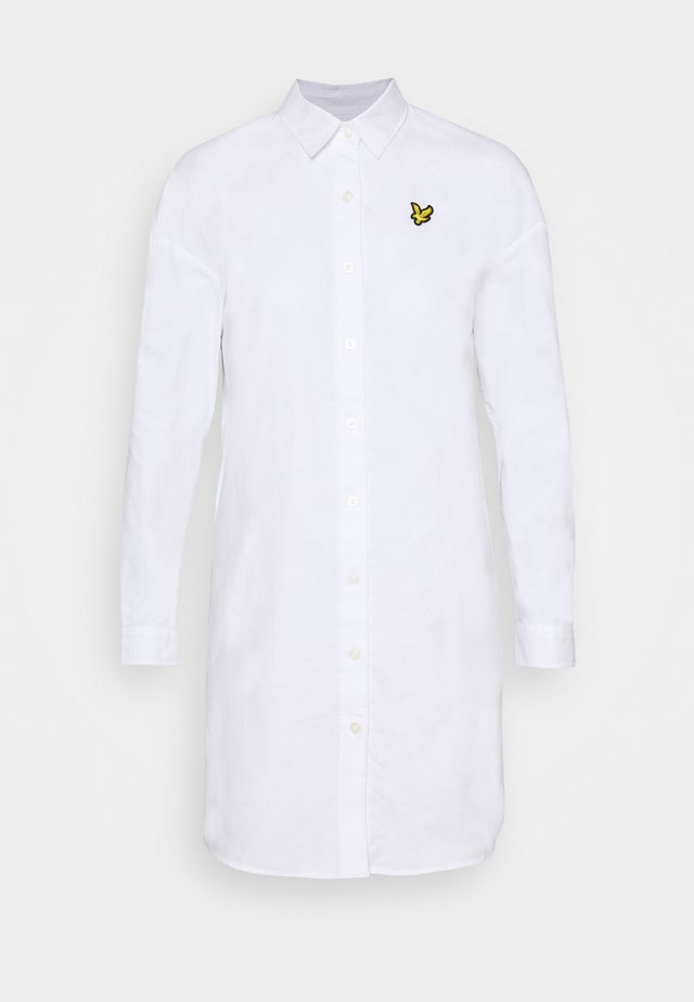 DRESS - Shirt dress - white