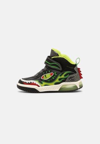 INEK BOY - Sneaker high - black/lime