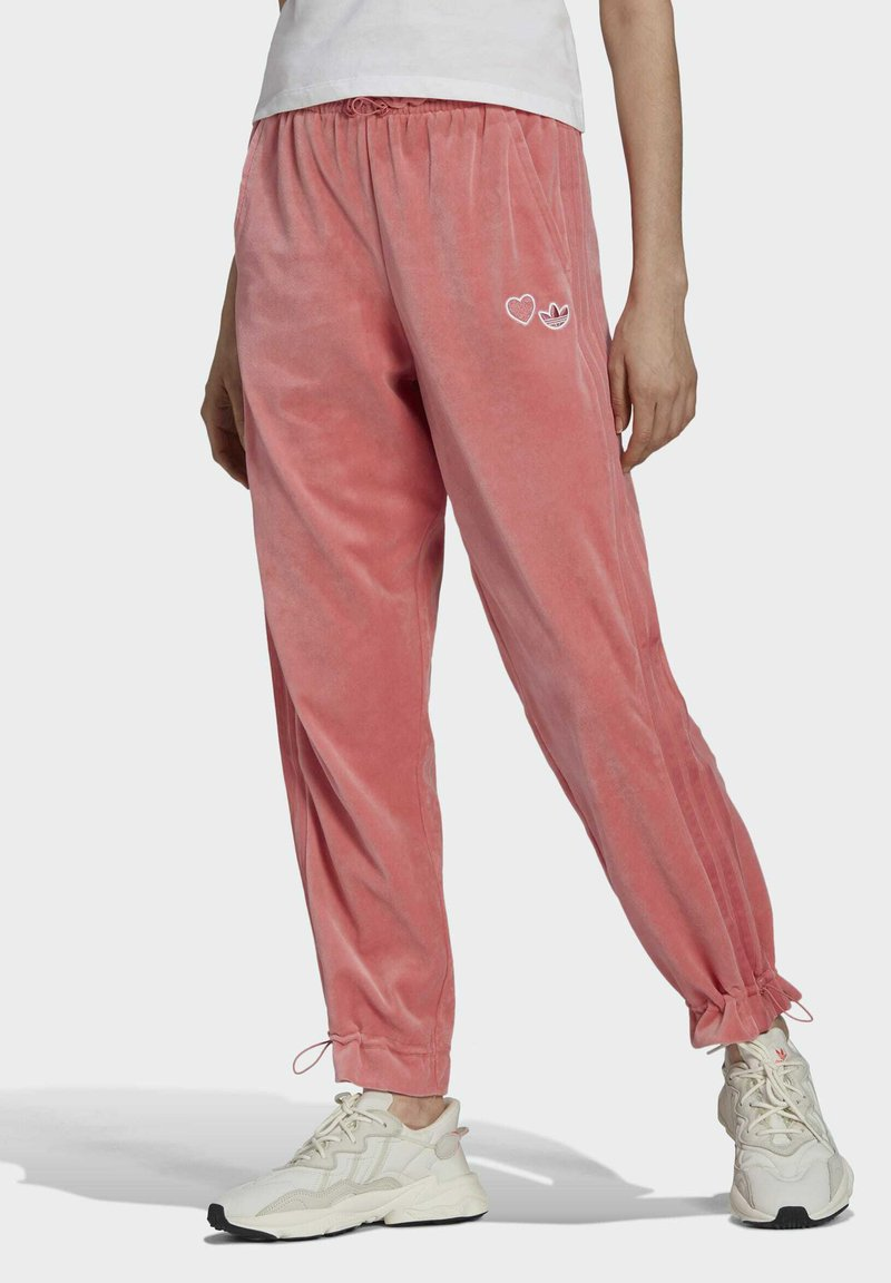 adidas Originals - TRACK PANT - Tracksuit bottoms - hazy rose