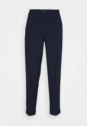 JJIBILL JJJORDY CROPPED - Pantaloni - navy blazer melange