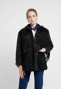 Levi's® Made & Crafted - LMC THE RANCH HANDLER - Veste en jean - black/grey - 0