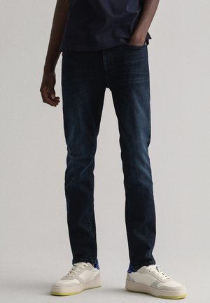 ACTIVE RECOVER  - Jeansy Slim Fit - black vintage