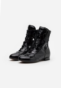 Marni - Lace-up ankle boots - black - 1