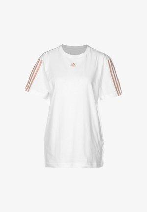 ESSENTIALS DAMEN - Print T-shirt - white