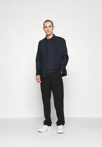 HUGO - DERO - Jednoduché triko - dark blue - 1