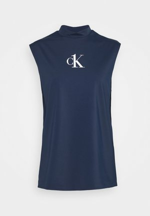 MUSCLE TANK - Undershirt - blue
