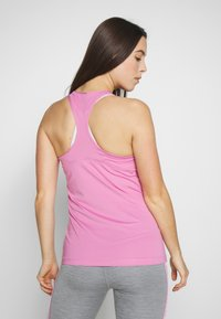 Nike Performance - TANK ALL OVER  - Funktionstrøjer - magic flamingo/white - 2