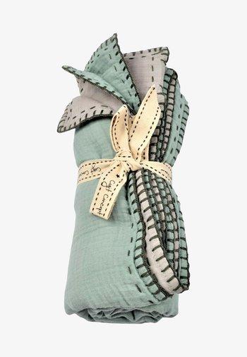 Muslin blanket - mint green