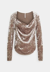 Free People - PERFECT DATE - Long sleeved top - taupe stone - 0