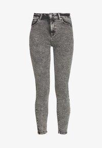 ONLY - ONLMILA ACID - Jeans Skinny Fit - grey denim - 4