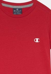 Champion - BASICS TEE 2 PACK UNISEX - T-Shirt basic - mottled grey - 3