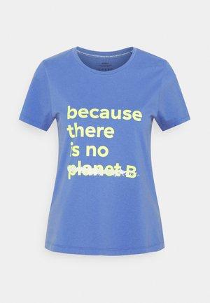 UNDERLINED - Print T-shirt - dark lavander