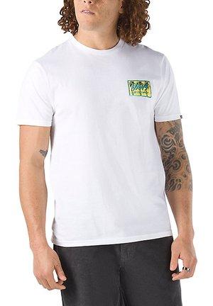 MN SKETCHED PALMS SS - Print T-shirt - white