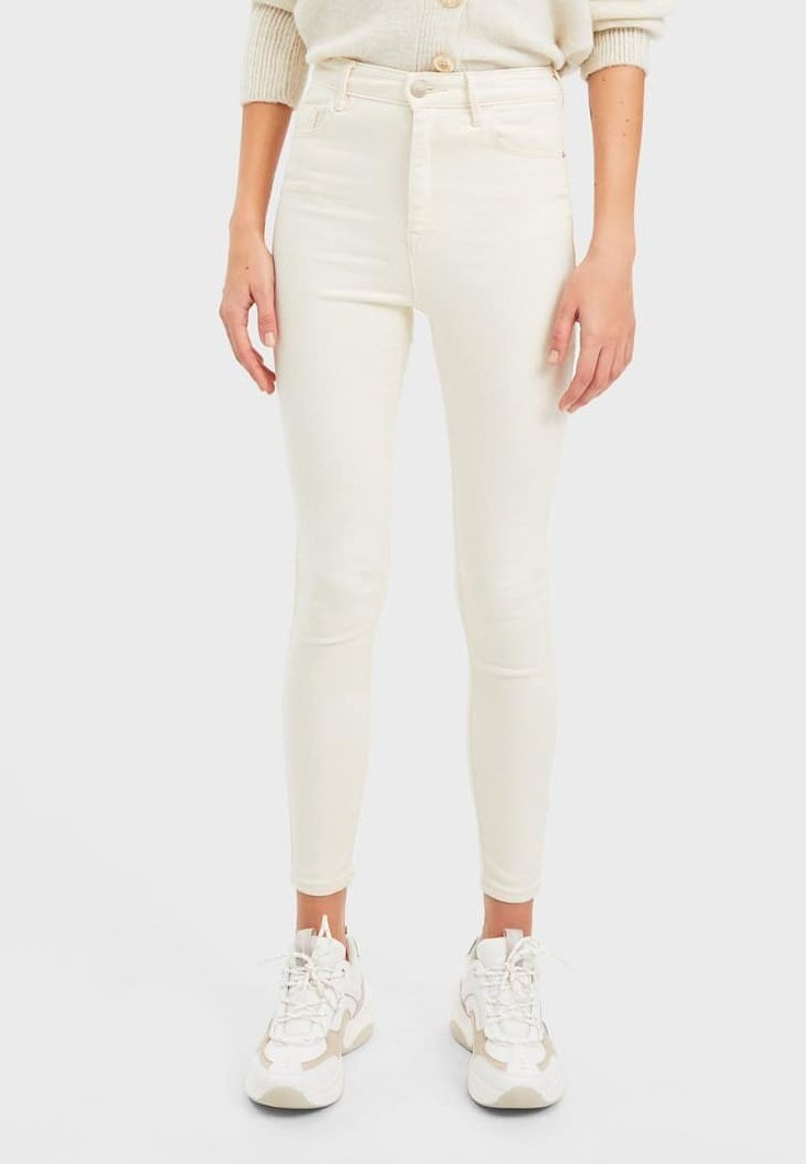 Stradivarius - 01120450 - Jeans Skinny - beige