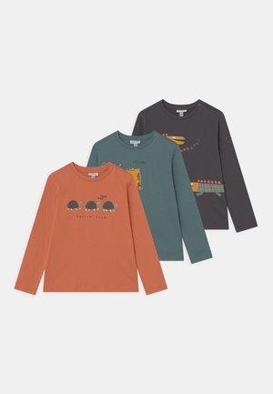 ANIMALS 3 PACK - Long sleeved top - arabesque/sea pine/black beauty