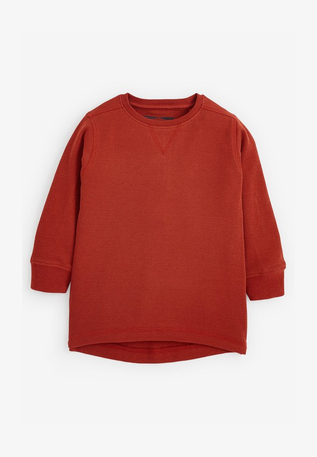 TEXTURED - T-shirt basic - orange