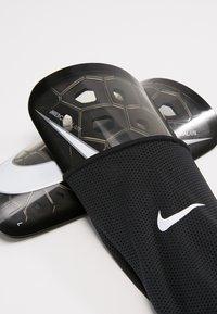 Nike Performance - MERCURIAL LITE - Shin pads - black/white - 6