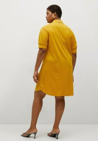 Violeta by Mango - CAMILO - Shirt dress - senfgelb - 1