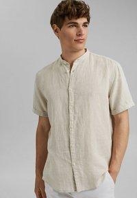 Esprit - MELANGE - Shirt - light beige - 0