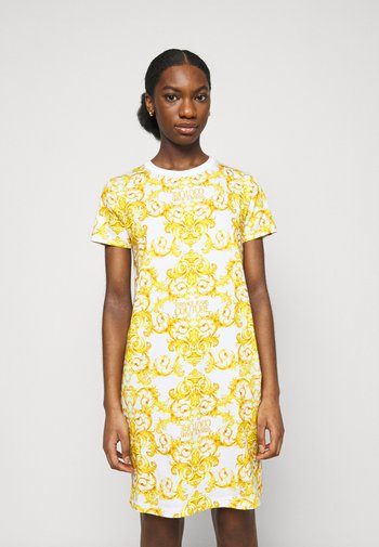 LADY DRESS - Žerzejové šaty - optical white
