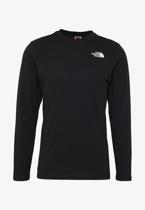 MENS BOX TEE - Long sleeved top - tnf black
