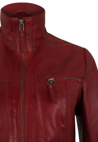 7eleven - Leather jacket - blood red - 4
