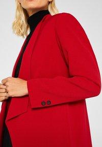 Esprit Collection - MIT NEUEM SMOKING - Blazer - dark red - 4