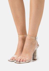 BEBO - VERITY - High heeled sandals - white - 0