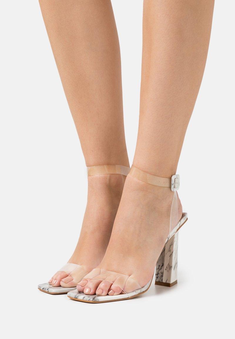BEBO - VERITY - High heeled sandals - white