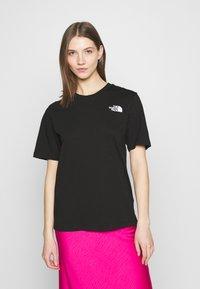 The North Face - REDBOX TEE - T-shirt med print - black - 0