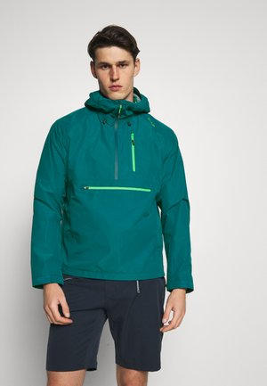MAN FIX HOOD JACKET - Hardshelljacke - bottle
