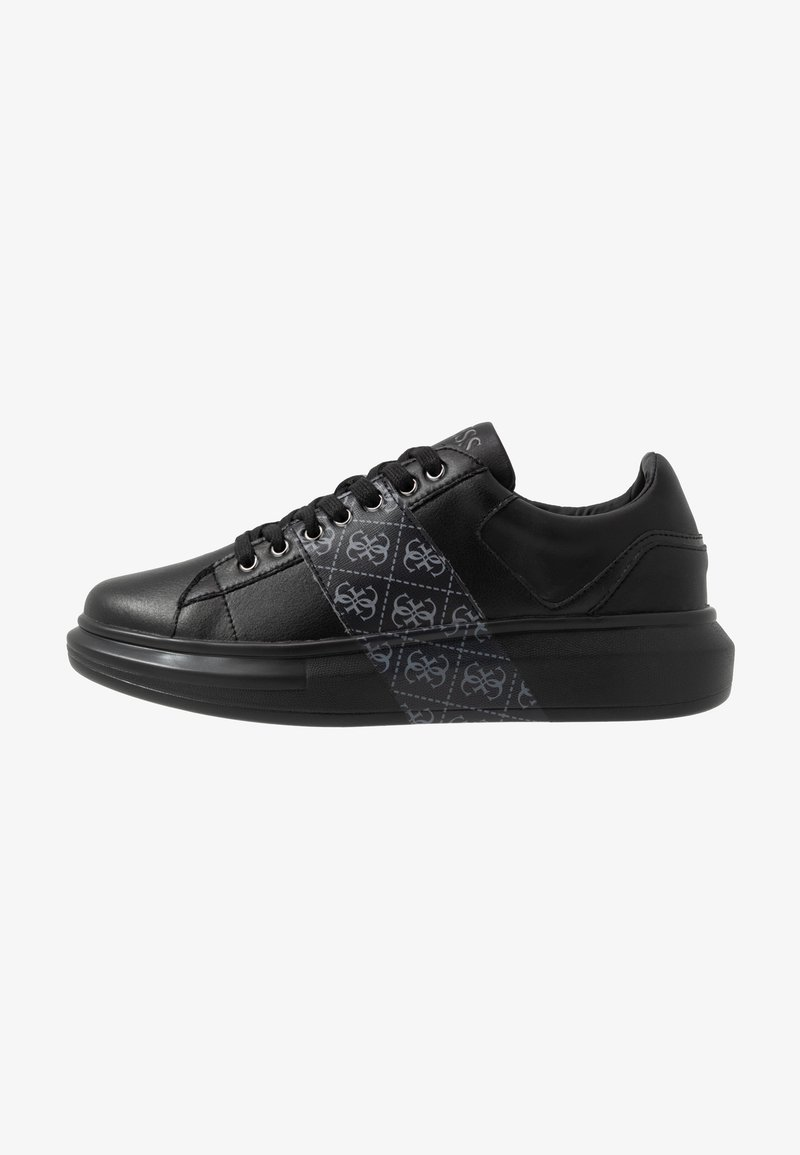 Guess - SALERNO II - Trainers - black/grey