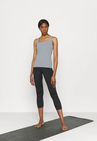 Nike Performance - THE YOGA LUXE TANK - Top - particle grey - 1