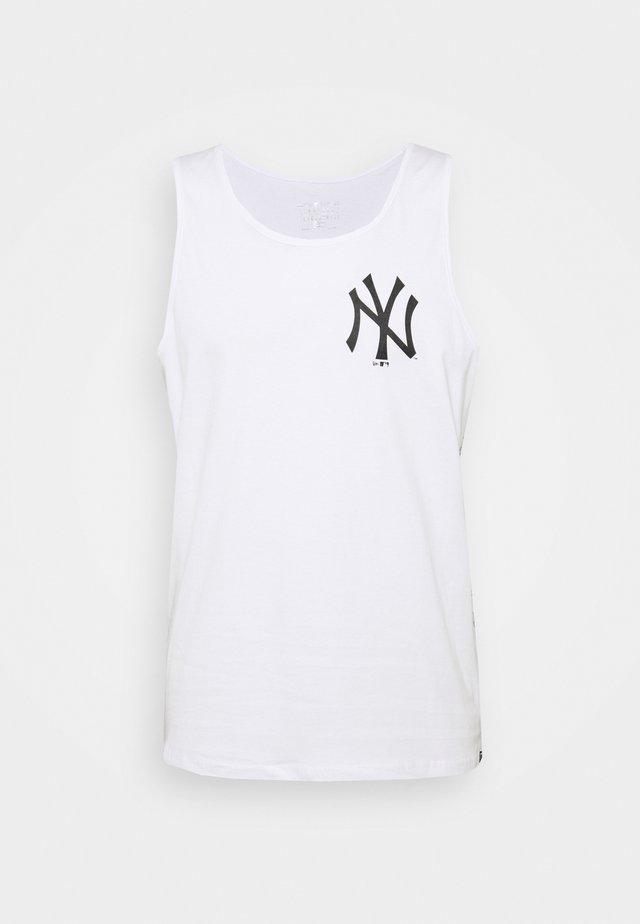 NEW YORK YANKEES TAPING TANK - Fanartikel - white