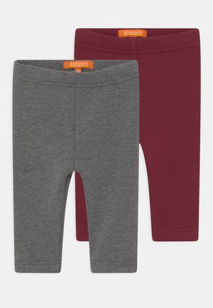 THERMO 2 PACK UNISEX - Trousers - mottled grey
